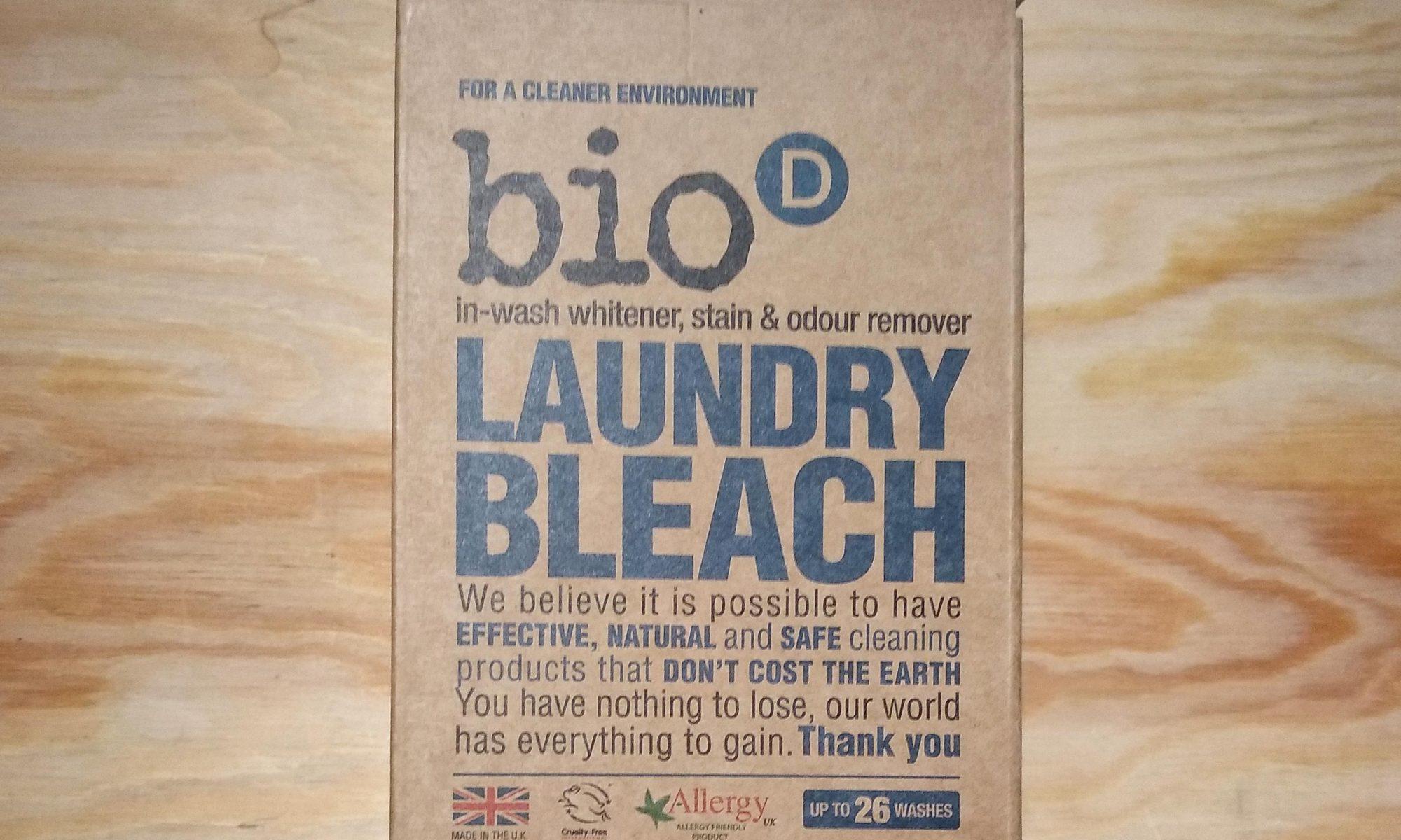 bio d laundry bleach