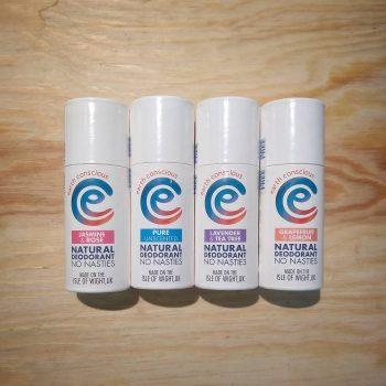 earth conscious deodorant tubes