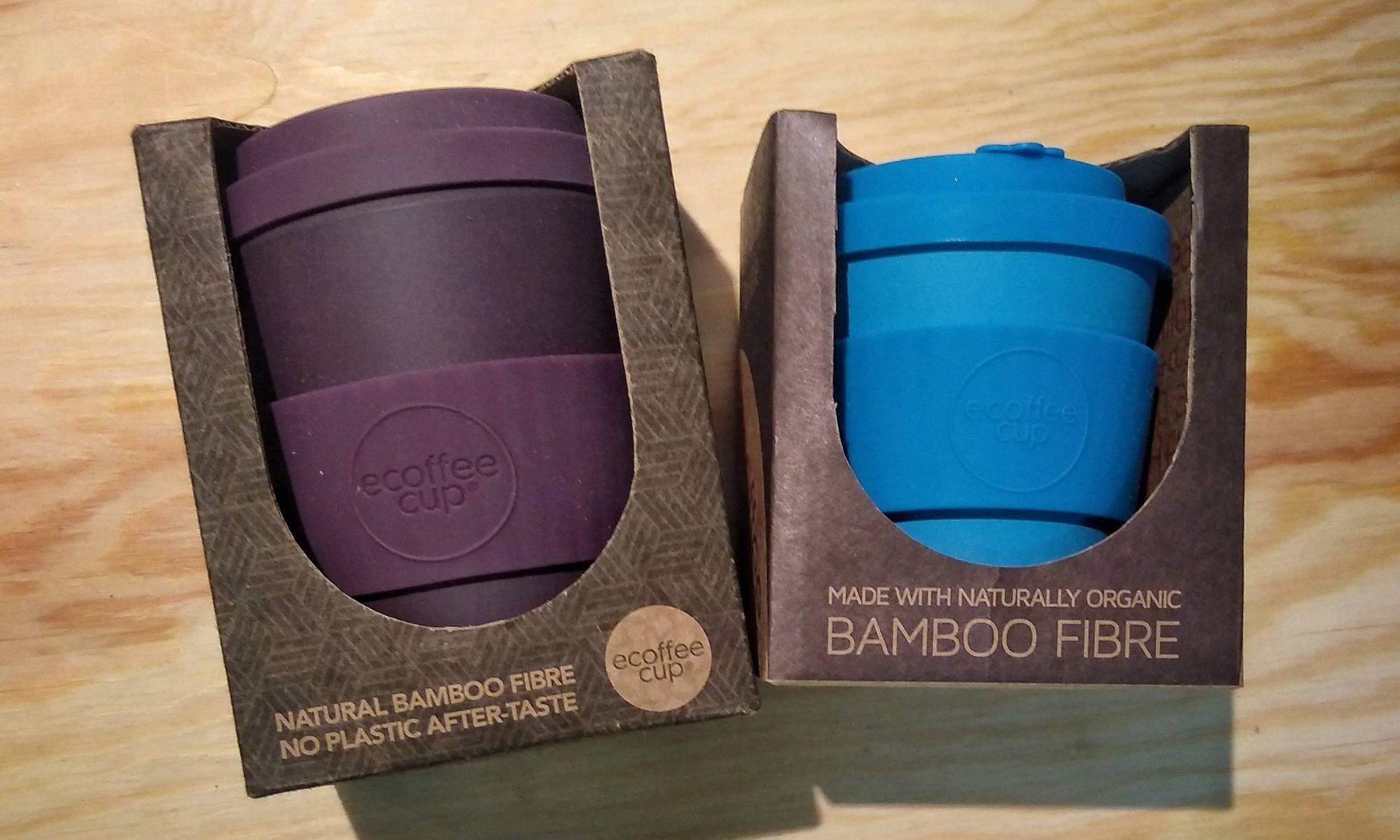 ecoffee reusable coffe cups