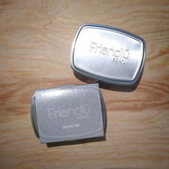 friendly soap tin