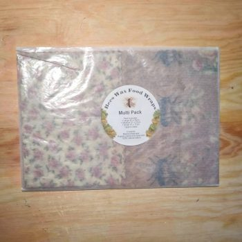 Bees Wax Food Wraps - Multi Pack - Rose & Bees
