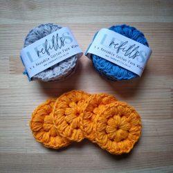 Crochet Cotton Face Pads
