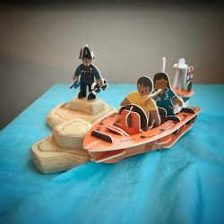 Play Press Promo Shot - Life Boat, Rescue Team, Health Care Worker