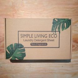 Simple Living Eco Laundry Detergent Sheets