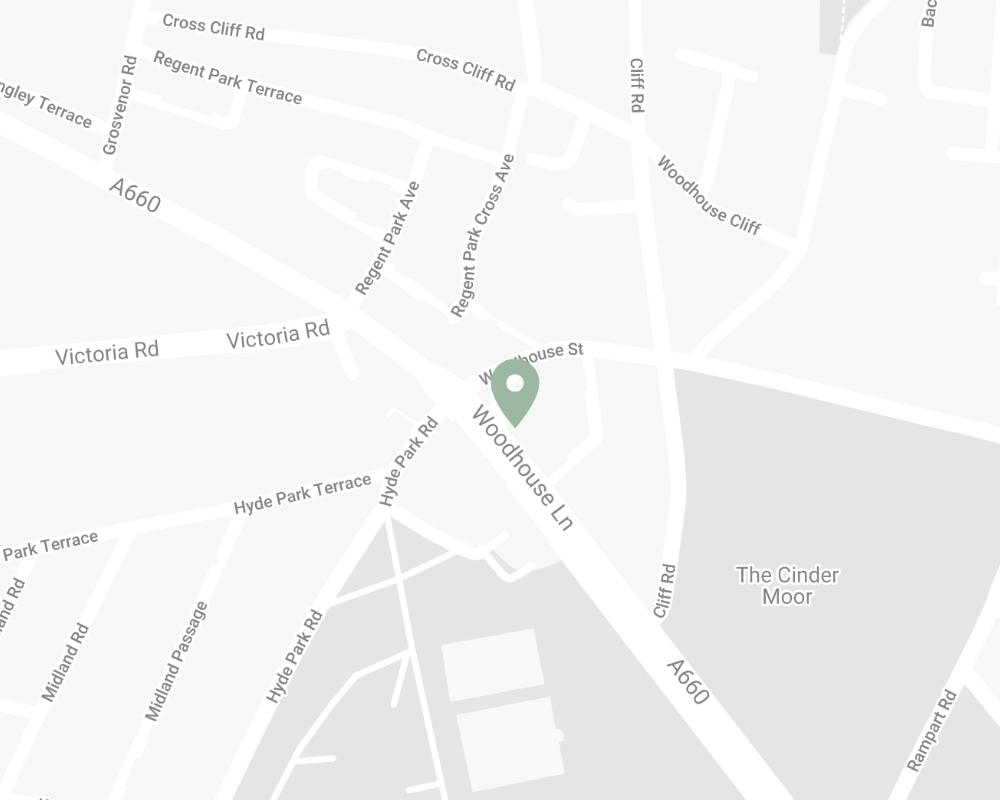Leeds Refills Hyde Park Corner Map